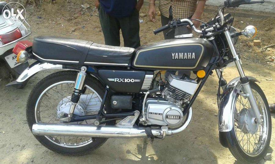 Old Yahama Bike