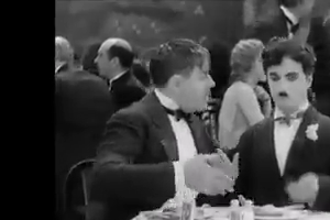 Charlie Chaplin Funny Video in the Party