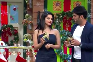 Kapil sharma with Sunny Leone - Undekha Tadka