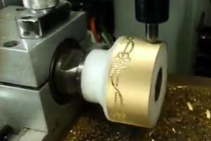 Making beautiful Jewelry on a CNC machine