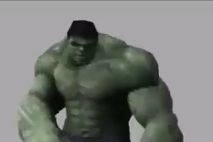 Muscle Man Dancing  animation