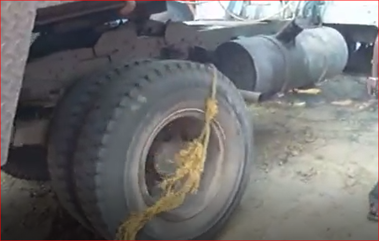 Amazing way to start a truck with no starter motor