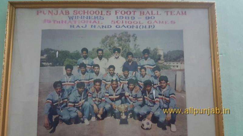 1st time Punjab School Champion team