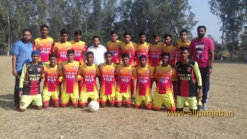 State football tournament U-17 Today semi final match Paldi wing vs Baddon wing