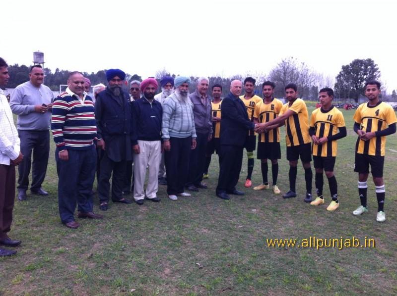 S.Nagina Singh Jangi Memorial Football Stadium, Paldi