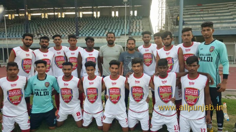 Today Paldi Accademy beat the Nawashahr 3-1 and enter the final state tournament ludhiana