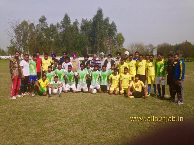 Sant Baba Mangal Singh Football Tournament Paldi Today Semi-Final Result.