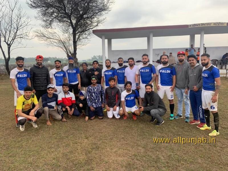 Today Paldi team enter the final football tournament Sarhala khurd