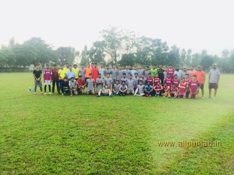 Today Practice match FA Paldi vs Roundglass Accademy Chandigarh football stadium Paldi