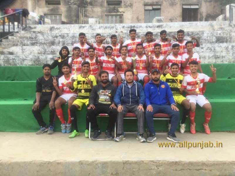 st Punjab youth league U-18 Champion team Paldi beat Baddon Accademy by 2-0