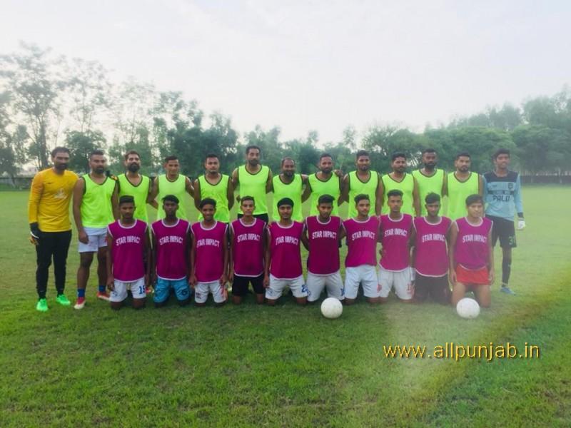 Football Team Players