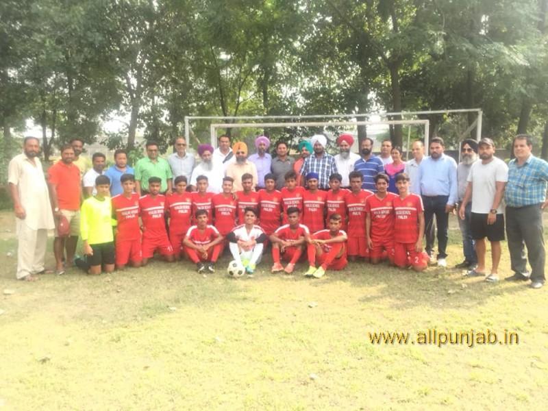 Today Paldi Team champion Distict tournament U-17