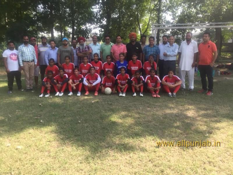 Today Distict champion Paldi School Team Girls U-19