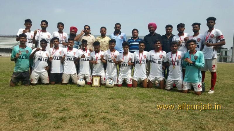 Punjab State Champion Paldi Accademy won the final tournament at Ludhiana