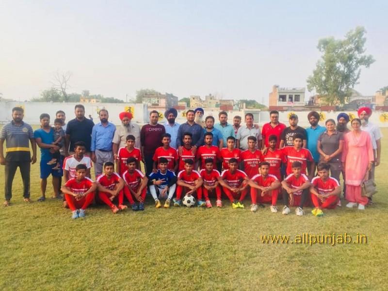 Today School Team Paldi U-19 Distict champion 2018-2019